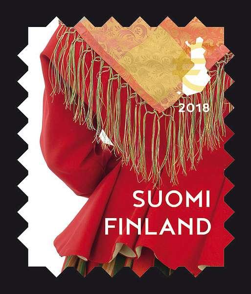 Kansallispuvut postimerkeissä