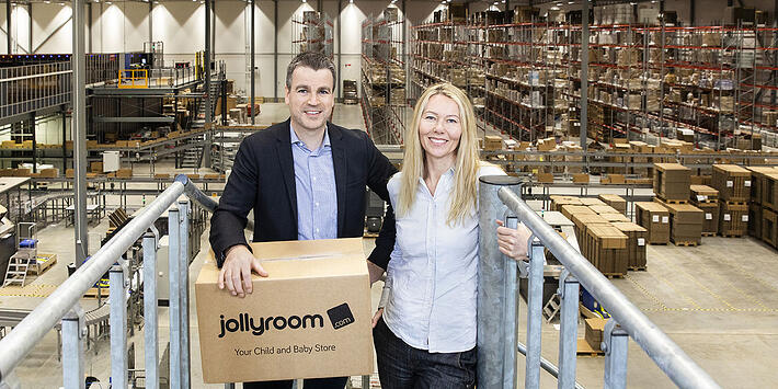 From living room to massive warehouses – Jollyroom is an e-commerce heavyweight