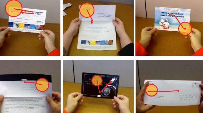Kanadan postin neuromarkkinoinnin tutkimus tutki silmien liikkeitä